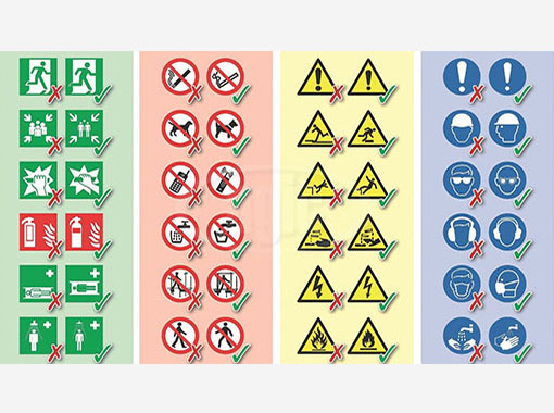 Pictogrammes ISO 7010