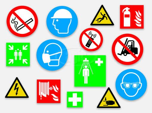 pictogrammes de sécurité